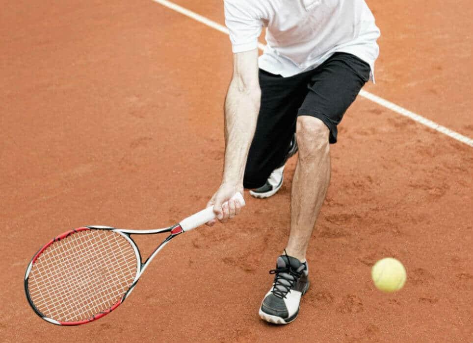 Drop Shot Angled Racket Head