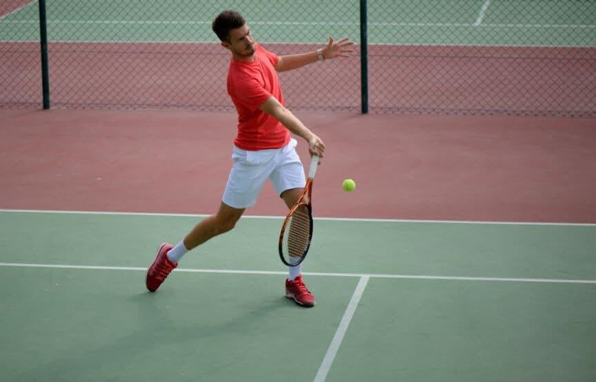 Tennis Lob Shot
