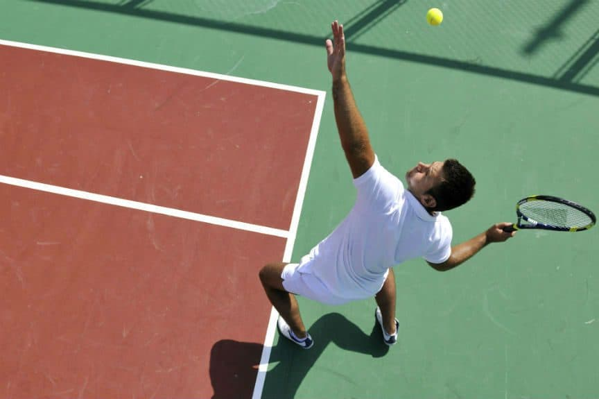 Tennis Serve Technique For Beginners - How To Serve Tips ...